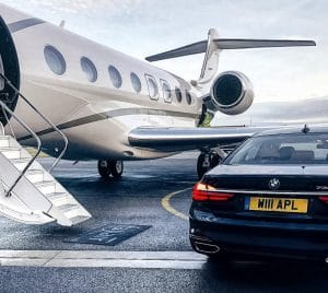 Business jet - Mid-size car