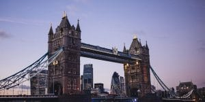 Tower Bridge of London City