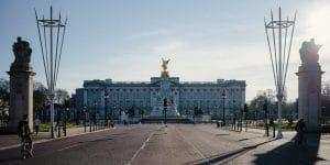 a photo of the Buckingham Palace of London
