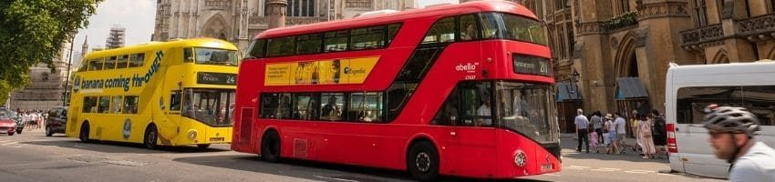 2 buses in london going to windsor castle